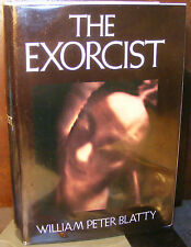 Exorcist by William Peter Blatty (1971) HC.DJ. 5th Printing Signed Ed. Very Good