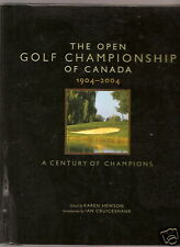 Open golf championship of Canada 1904-2004