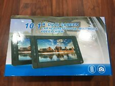 """Dual Screen Portable DVD Player 10.1"""" New!!!"""