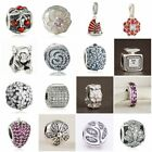 Authentic Solid 925 Sterling Silver Charms C fit European Bead Charm Bracelets