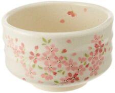 Chawan Japanese Matcha Tea Bowl Mino yaki Pottery Sakura Cherry Made in Japan