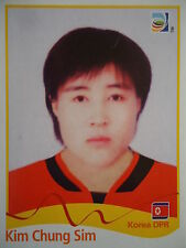 Panini 212 Kim Chung Sim Korea DPR FIFA Women's WM 2011 Germany