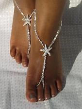 Swarovski Beach Wedding Foot Jewelry,Anklet,Destinatio n Wedding Bridal Accessory