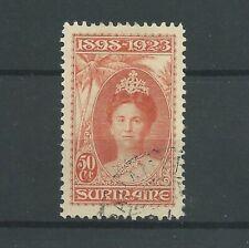 Suriname 108  JUBILEUM 1923  VFU/gebr CV 50 € prachtig !!