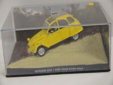 Nr.5  James Bond 007 Modellauto Collection 1:43 Citroen 2CV  Box mit Kratzer