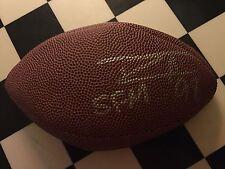 Robert Mathis authentic signed autographed mini football Coa