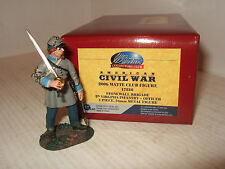 Britains acw club figure 17810, 5th virginia officier d'infanterie avec épée prêt.
