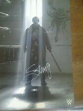 Sting Signed WWE 16x20 Photo WCW TNA Crow Autograph Wrestler