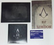 Assassin's Creed Syndicate Extras, edición Especial. Libro Arte, Bso y Mapa.