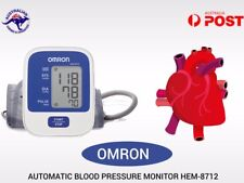 Omron HEM 8712 upper Arm Bp Blood Pressure Monitor with large cuff Automatic