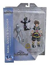 Kingdom Hearts Select Sora, Dusk, and Soldier Action Figure Set Diamond