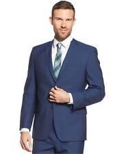 $301 ANDREW MARC NEW YORK men's BLUE FIT SUIT BLAZER JACKET SPORT COAT 44 L
