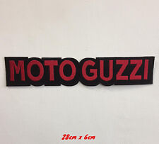 Moto Guzzi biker art badge Embroidered Iron or sew on Patch