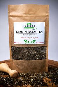 Lemon Balm Tea Melissa Dried Herb (Melisa lekarska) Calm & Relax Time
