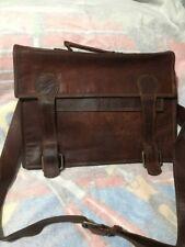 Oklahoma Leather Casual Business Mens Messenger Bag