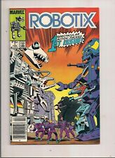 ROBOTIX #1 MARVEL COMICS 1986