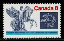 "Canada #648ii(2) 1974 8 cent UPU Centenary GHOST ""CANADA 8"" DOUBLED MNH CV$5.00"
