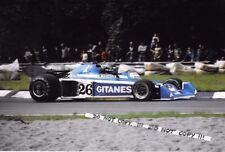 9x6 Photograph Jacques Laffite  Ligier-Matra JS5 ,  Italian GP  Monza 1976