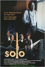 SOLO MOVIE POSTER Original 1989 Rolled 27x40 One Sheet VICTOR WONG Short Film