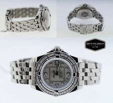 Breitling Windrider Cockpit Mother Pearl Diamond Women's 31.8mm Watch A71356