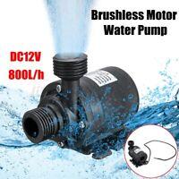 800L/H DC 12V Wasserpumpe Tauchpumpe Gartenpumpe Solar Pumpe Brushlessmotor C