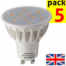 LED GU10 LIGHT BULBS Warm White 3000k 6w Bright Spotlight Lamp Energy Efficient