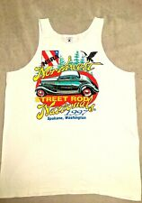 Vintage NSRA Northwest Street Rod Nationals Spokane WA 1997 Tank Top Shirt Lg