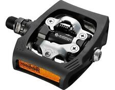 Shimano PD-T400 CLICK'R Multi-Purpose Trail Clipless SPD Pedals BLACK EPDT400LR