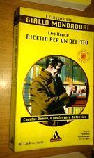 CLASSICI DEL GIALLO MONDADORI #   994-LEO BRUCE-RICETTA PER UN DELITTO-2004