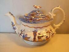 British Pre-c.1840 Blue & White Transfer Ware Pottery