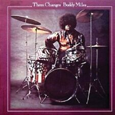 BUDDY MILES - THEM CHANGES  CD  8 TRACKS POP / FUNK  NEW+