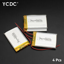 503450 3.7V 1000mAh Lipo Battery Replacement For MP4 MP5 GPS BT Speaker 4Pcs A1