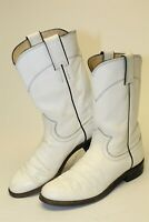 Justin Womens Size 6 B Leather Pull On Flat USA Made Riding Boots L3086