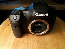 Canon EOS 7D 18.0 MP Digital SLR Camera - Black (Body Only) error 40, Parts Only