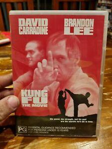 Kung Fu - The Movie (DVD, 2004) Brandon Lee, David Carradine