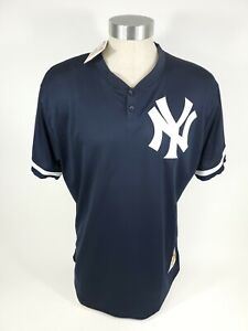 NY Yankees Don Mattingly Mitchell & Ness Blue Jersey #23 Cooperstown XL