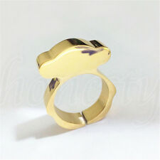1pc Fashion Women's Fashion Jewelry Zinc Alloy Ring Gold/Silver Band Bear Ring