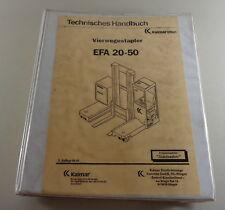 Werkstatthandbuch / Technisches Handbuch Kalmar LMV Vierwegestapler EFA 20 - 50