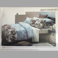 WOOLREST @ Home Tropical Queen Bed Quilt Cover Set - Brand New