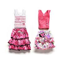 1 Pcs/set Skirt Short-sleeved T-shirt for  Kids Doll Clothes Tutu  W18 FJ