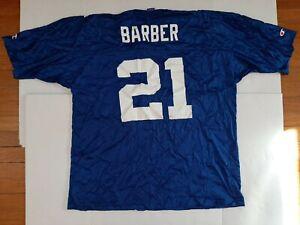 Vintage New York Giants Tiki Barber Champion Jersey Mens Size Large 44 NFL