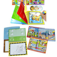 Magic water drawing book writing doodle book coloring painting board kids toy BC