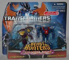 transformers prime beast hunters target smokescreen cindersaur MOSC