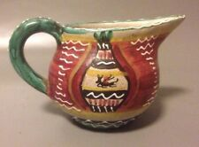 Deruta ARS Italian Studio pottery jug mid century unusual design