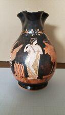G. Leouleos Greek Vase Reproduction. Pompe dressing for Dionysian Festival