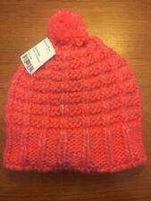 c4bdca7c229 Turtle Fur Handmade Women s Oversized Pom Wool Beanie Pink Flamingo Fleece  Lined