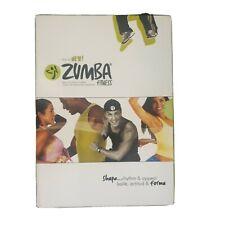 The All New Zumba Fitness - 4 Disc DVD Shape Rhythm & Appeal - Region 4 AUS POST