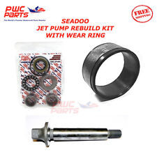 SeaDoo Jet Pump Rebuild Kit Wear Ring Impeller Shaft  SP SPI XP SPX GTX 720