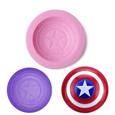 Silicone Captain America Fondant Cake Decor Chocolate Baking Mold Tools