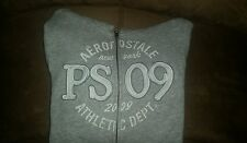 P.S. From Aeropostale Girl's Ashe Gray Hooded Jacket